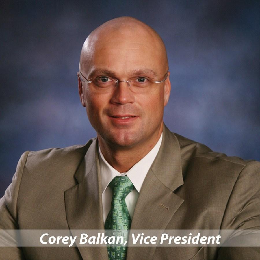Corey Balkan, Vice President