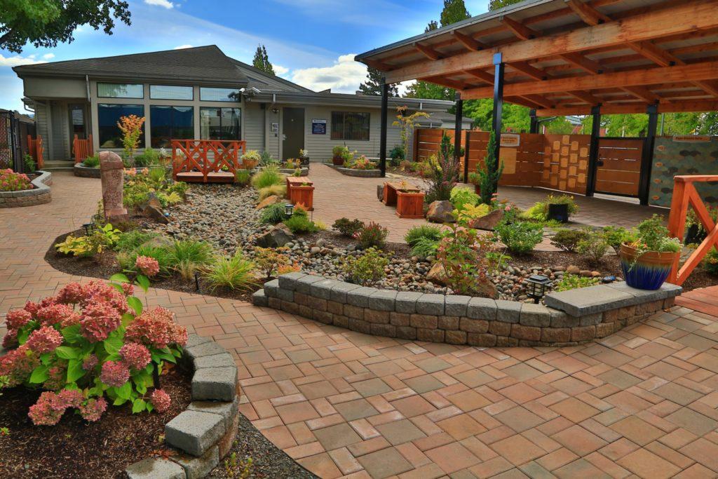 Photo of the buy a brick garden at Memorial Gardens