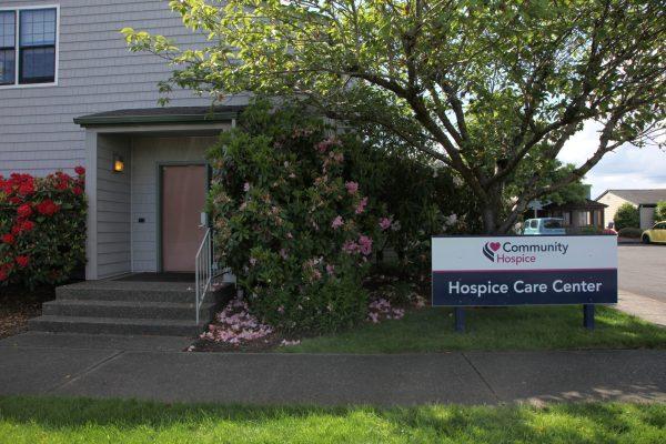 Exterior photo of CHHH's Hospice Care Center