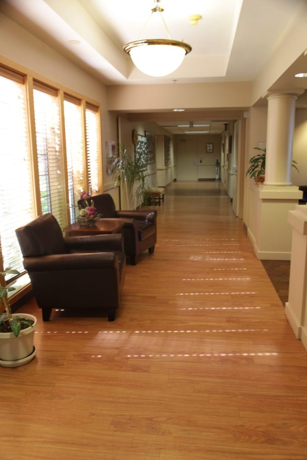 Photo of the interior of the CHHH Home Hospice Care Center
