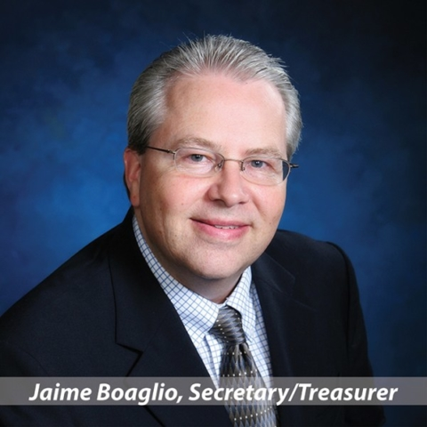 Jaime Boaglio, Treasurer
