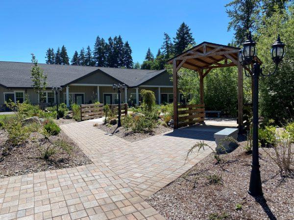 Memorial Garden walkway